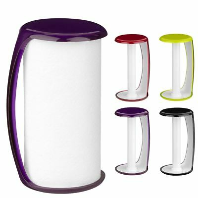 Kitchen Towel Paper Roll Holder Plastic Home Kitchen Stand & Easy to Re-Fill