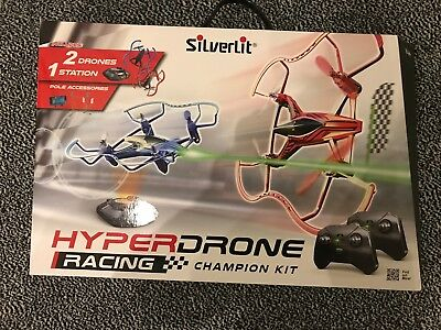 SILVERLIT Hyperdrone Racing Champions Kit Remote Control Drone toy BNIB  RRP£99