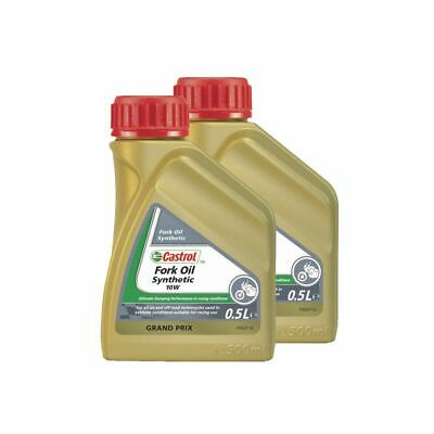 Castrol Motorcycle / Bike 5W Fully Synthetic Fork / Suspension Oil / Fluid - 1L