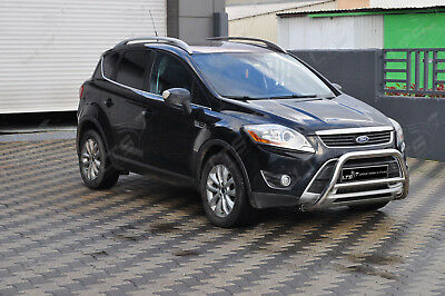 Ford Kuga Chrome Nudge A-Bar Stainless Steel Bull Bar 2016 Onward
