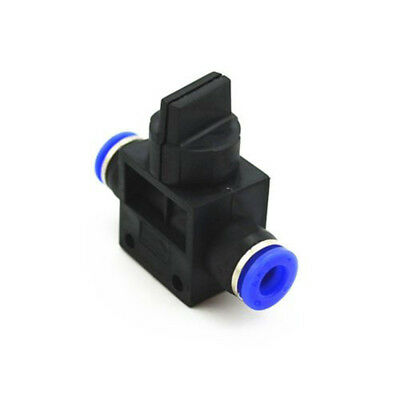 Air Flow Speed Control Valve Tube Hose Pneumatic Push In Fittings 4/6/8/10/12mm