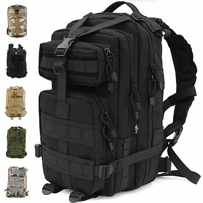 2136e81656 30L Outdoor Military Rucksacks Tactical Backpack Camping Hiking Trekking  Packbag 1 of 7FREE Shipping ...
