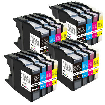 24 20 16 PK LC71 LC75 Ink Set For Brother MFC-J6510DW MFC-J6710CDW MFC-J6910CDW