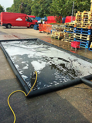 Environmentally Friendly Mobile Inflatable Car & Van Wash Mat (Made To Order)
