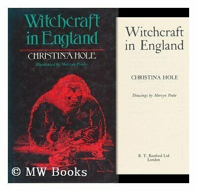 Witchcraft in England by Hole, Christina Hardback Book The Cheap Fast Free Post