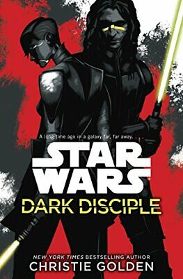 Star Wars: Dark Disciple by Golden, Christie Book The Cheap Fast Free Post