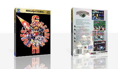Guardian Heroes Sega Saturn Replacement Spare Case + Box Art Work Cover No Game