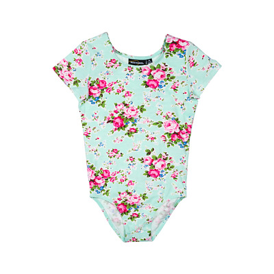 BNWT Rock Your Baby Mint Green MAEVE Leotard size SMALL 2-4 years