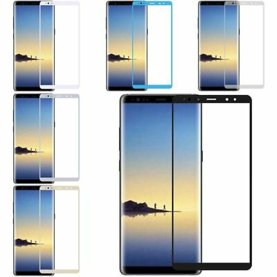 Clear Full Coverage Tempered Glass Screen Protector For Samsung Galaxy Note 8