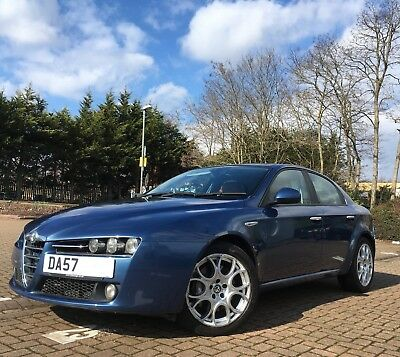 Alfa Romeo 159 2.4 JTDM Lusso Q-Tronic 4dr heated leather, timing belt automatic