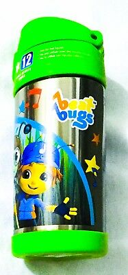 NEW! Thermos Beat Bugs Funtainer Bottle Stainless Steel Insulated 12oz Kids FUN