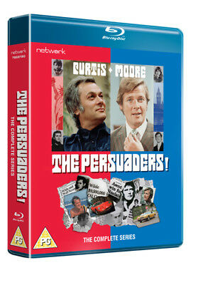 The Persuaders!: Complete Series Blu-Ray (2018) Tony Curtis ***NEW***