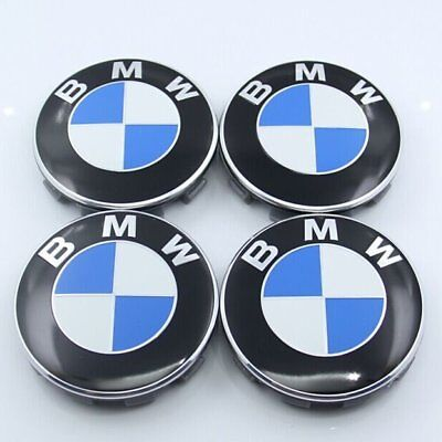 bmw lenkrad emblem 45mm f r bmw lenkradkappe logo schwarz. Black Bedroom Furniture Sets. Home Design Ideas