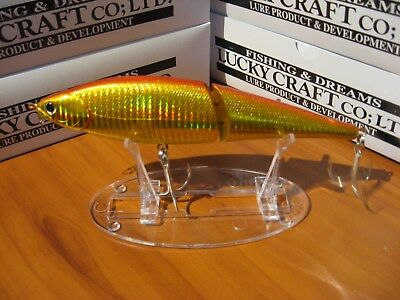 "lucky craft pointer ll 170 ss super sinking jerk 6 3//4/"" 2z salty chartreuse shad"
