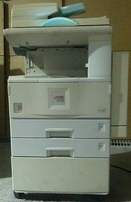 Lanier LD122 Commercial High Speed Copier Printer Scanner with Manuals