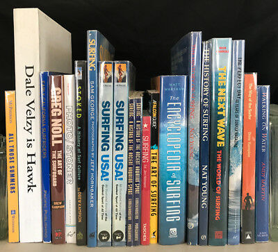 SURFING BOOKS -  20 titles - INSTANT Library!