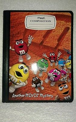 M&M's Mead 100 Sheets/Ruled Composition Book