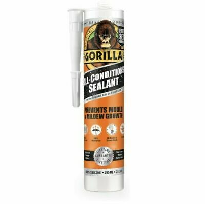 Gorilla All Purpose Mould Resistance Sealant Multi Use In Clear And White *Offer