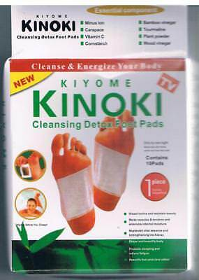 100 Stück Kinoki Detox Foot Pads Entgiftungspflaster Pflaster Entgiftung Vital