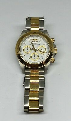 Invicta  Speedway 9212 Wrist Watch for Men Two Tone