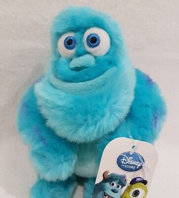 Official Sulley Monsters Inc University Sully Soft Toy Disney Store Nwt