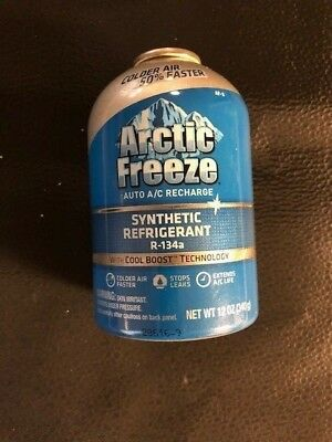 Artic Freeeze  Auto A/c Recharge - R-134A 12 Oz- Brand New