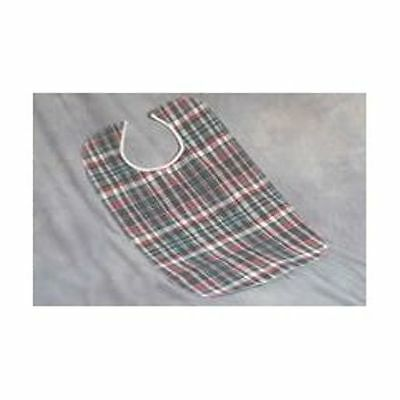 "Plaidbex Adult Bib ~ 22' x 33"" ~ Snap Closure"
