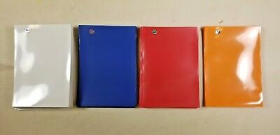 63 Ultra Pro Card Sleeves Protectors White Blue Red Orange Yu-Gi-Oh! Pokemon