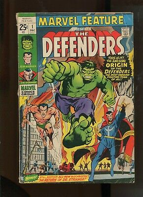 Marvel Feature #1 (4.0) 1St Appearance Of The Defenders!