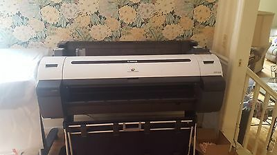 "Canon ipf750 36"" Large Format Printer needs pint head and inks"
