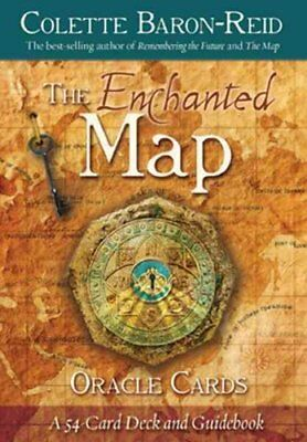 The Enchanted Map Oracle Cards by Colette Baron-Reid 9781401927493 (Cards, 2011)