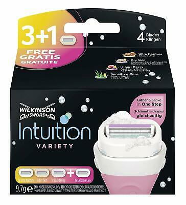 Wilkinson Sword Intuition Lames Variety