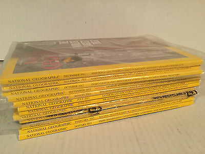National Geographic 1 Magazines Full Year Collection 2019