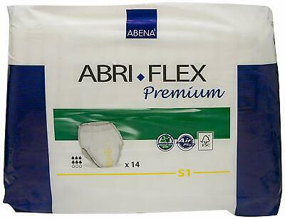 Abena Abri-Flex Air Plus S1 Protection pour Incontinence 1,4 L 60-90 cm Jaune...