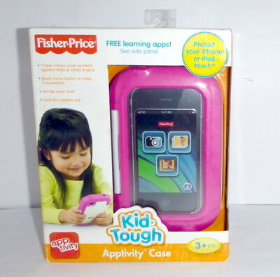 New Fisher Price Kid Tough Apptivity Case - For Iphone Or Ipod Touch