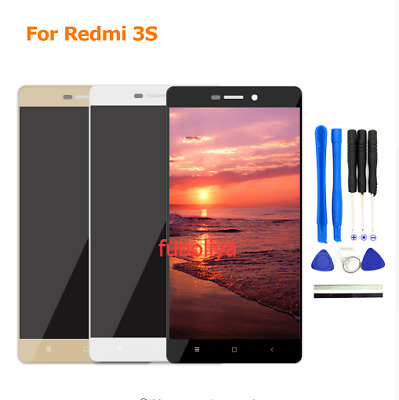 Xiaomi Redmi 3 3S 3X 3 PRO LCD Display Touch Digitizer Assembly Black White f88