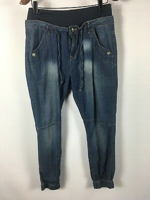 Witchery maternity size 10 relaxed fit gorgeous tapered jeans