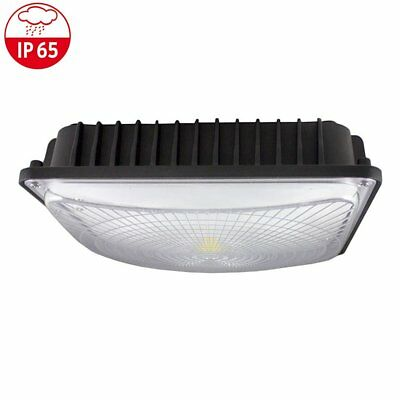 50W LED Canopy Ceiling Light Fixture 6000K Gas Station Warehouse Highbay Outdoor