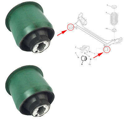 2X Rear Axle Beam Mounting Subframe Bushes Fits Peugeot 307, Citroen C4, 5131.a4