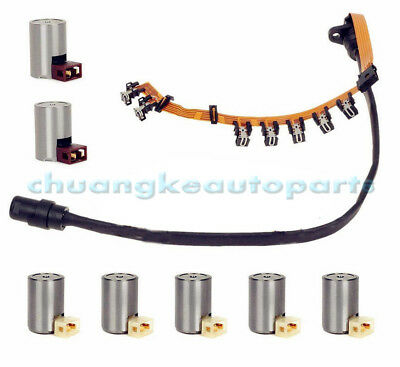 01M TRANSMISSION WIRING Harness Shift Solenoid Set For VW JETTA VW MK4 95-04