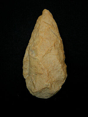 ANCIENT Quartzite HAND AXE - Acheulean Civilization - 21 cm LONG - Sahara