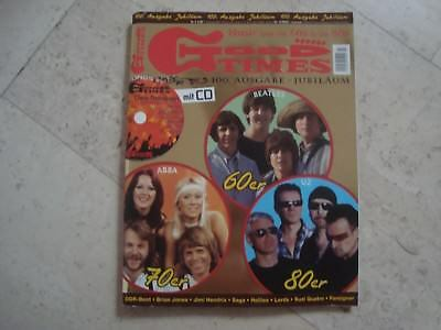 ABBA U2 BEATLES GOOD TIMES cover magazine Suzi Quatro The Lords Agnetha Frida