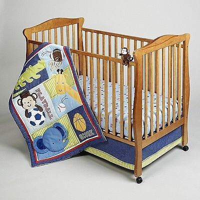 Little Bedding by NOJO Playtime Play Time Fitted Crib Sheet ONLY!