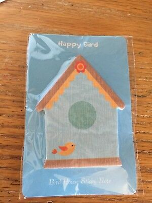 PAGE MARKERS Little Bird House NEW Unique Sticky Note FREE SHIP!*
