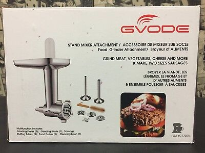 Gvode Kitchen Food Grinder Attachment for KitchenAid Stand Mixers