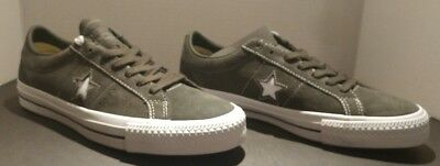 f72124a6638 Converse One Star Pro Ox Ankle-High Suede Fashion Sneaker size 8men-10wms