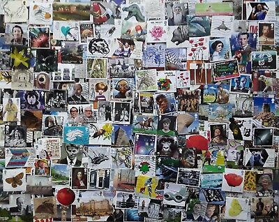 GB Kiloware 250 stamps inc High Values & Multi Issues 2001-2017 Off Paper - M1