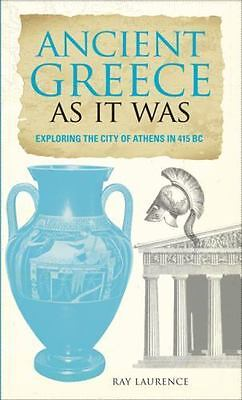 NEW - Ancient Greece As It Was: Exploring the City of Athens in 415 BC