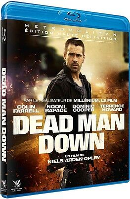 Blu Ray  //  DEAD MAN DOWN  //  Colin Farrell, Noomi Rapace  /  NEUF cellophané