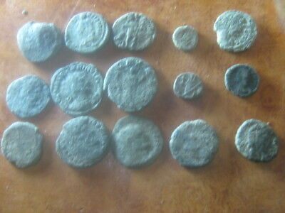 Ancient roman coins lot 28
